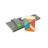 Pocket Pouch Prism <br>Magnetic Wooden Blocks <br>6 pieces