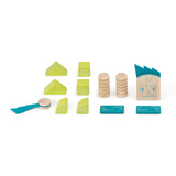 Zip Zap <br>Magnetic Wooden Blocks <br>Sticky Monsters, 8 pieces