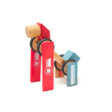Daredevil <br>Magnetic Wooden Blocks <br>Stunt Team, 8 pieces