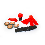 Magnetic Wooden Wheels <br>Magnetic Wooden Blocks <br>4 pieces