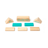 Robo <br>Magnetic Wooden Blocks <br>Future Collection, 8 pieces