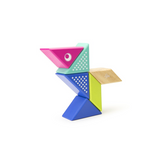 Travel Pals - Hummingbird <br>Magnetic Wooden Blocks <br>6 pieces