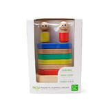 Magnetic Floating Stacker <br>Tegu Baby and Toddler <br>11 pieces