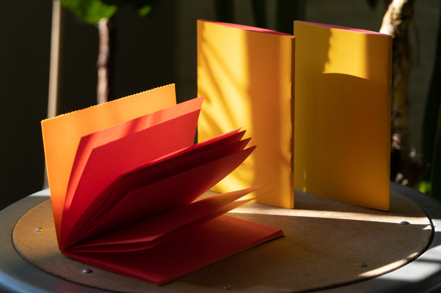 3 ColorPair Notebooks: Yellow + Red