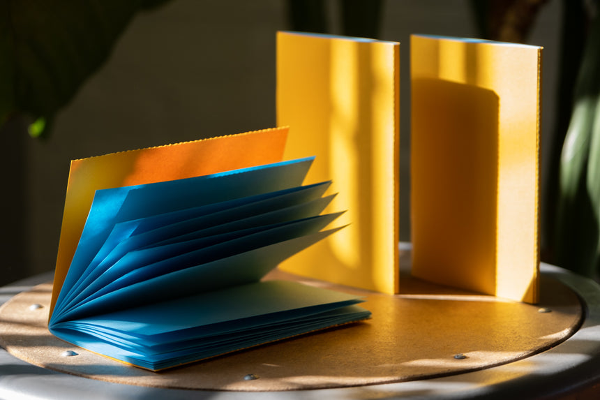 3 ColorPair Notebooks: Yellow + Blue