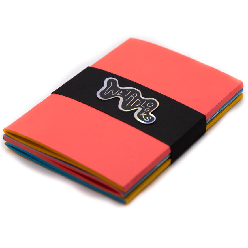 3 Inverted Primary ColorPair Notebooks