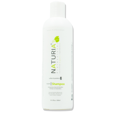 Naturia Keratin Organic Shampoo helps to restructure fibre to restore shine to dry and dull hair. Hanastory