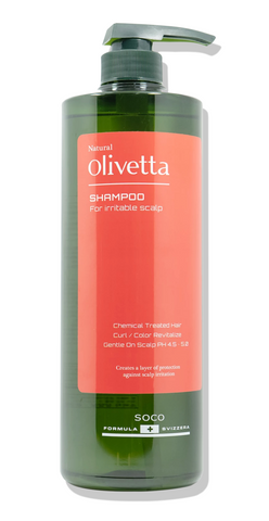 Hanastory olivetta daily shampoo for irritable scalp