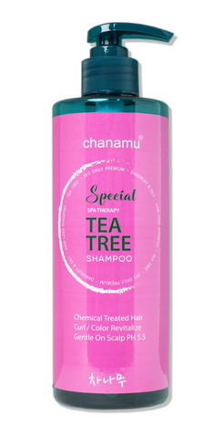 Hanastory tea tree shampoo scalp