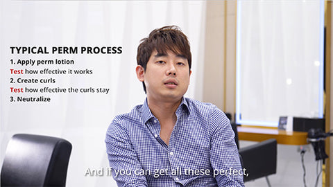 what is a korean perm and how does it work by sean lee korean dusolbeauty hair salon singapore orchard