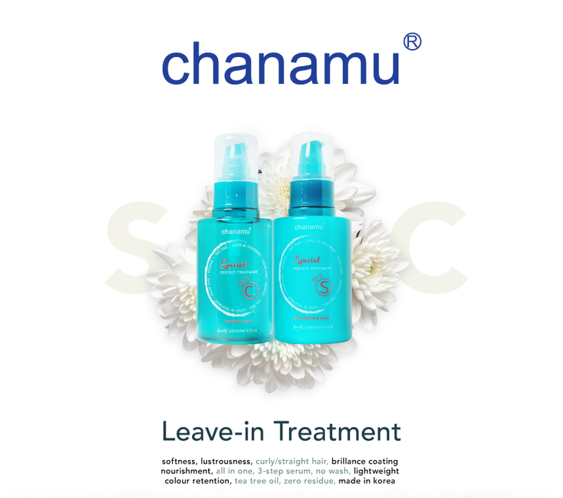 chanamu s&c tea tree leave in treatment