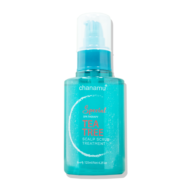 Chanamu Tea Tree Scalp Scrub Treatment, 125ml