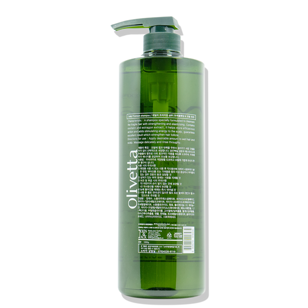 Olivetta Daily Shampoo for Irritable Scalp