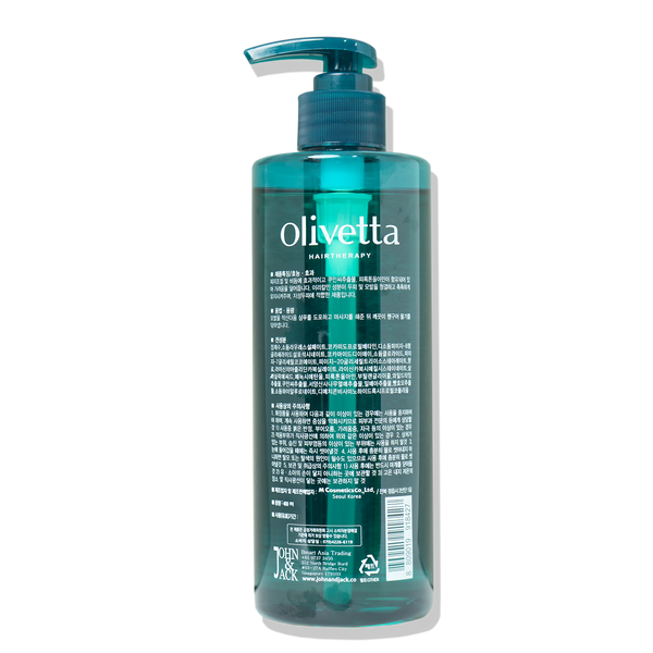 Olivetta Shampoo for Hair Loss, 400ml