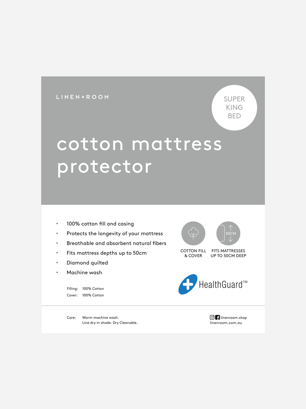 Packaging-Super-King-Cotton-Mattress-Protector