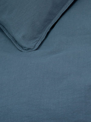 Superking-Textured-Bluestone-Vintage-Washed-Quilt-Cover-Set