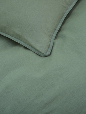Superking-Textured-Sage-Vintage-Washed-Cotton-Quilt-Cover-Set