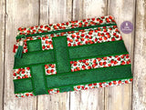 DIGITAL DOWNLOAD Hillary Clutch Applique Lined and Unlined Options