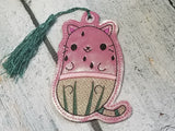 DIGITAL DOWNLOAD Watermelon Kitty Bookmark