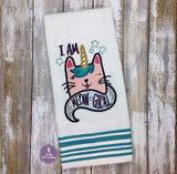 DIGITAL DOWNLOAD I Am Meowgical Applique Set