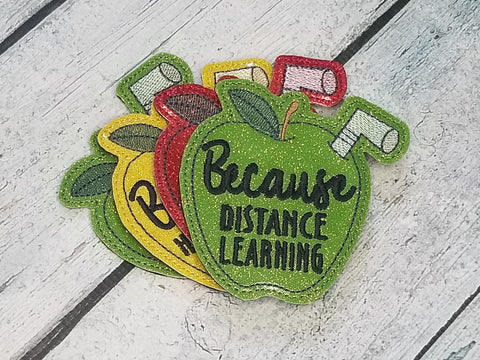 DIGITAL DOWNLOAD Because Distance Learning Coaster