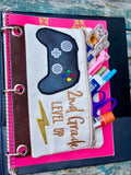 DIGITAL DOWNLOAD ITH Pencil Pouch BUNDLE Pre-K Through Sixth Grade Included 8 Designs, 4 Sizes