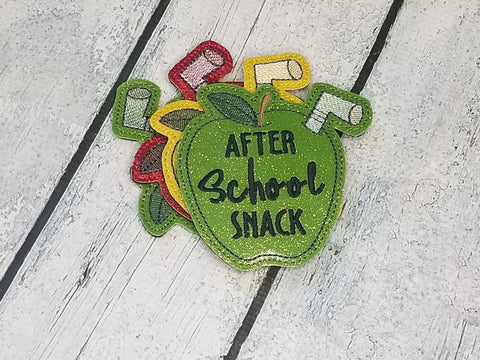 DIGITAL DOWNLOAD After School Snack Coaster