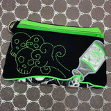 DIGITAL DOWNLOAD Applique Poison Bottle Clutch Zippered Bag