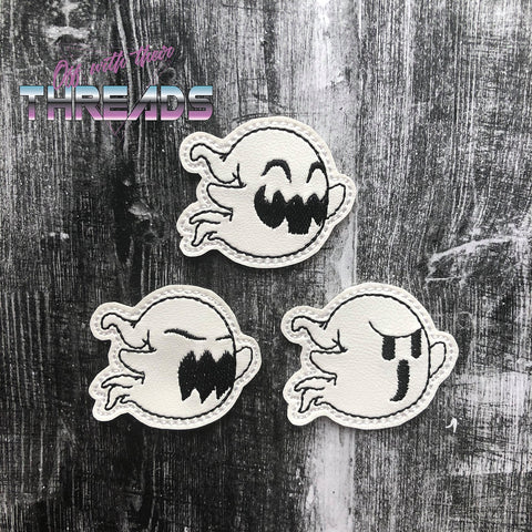 DIGITAL DOWNLOAD Ghost Trio Feltie Set