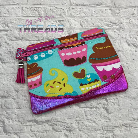 DIGITAL DOWNLOAD Sherry Clutch Lined and Unlined Applique