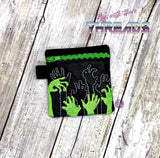 DIGITAL DOWNLOAD 4x4 From The Grave Zipper Bag Lined and Unlined Options Included