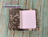 DIGITAL DOWNLOAD 5x7 Applique Mini Composition Notebook Cover