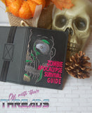 DIGITAL DOWNLOAD 5x7 Zombie Apocalypse Survival Guide Mini Comp Book Cover