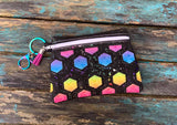 DIGITAL DOWNLOAD The Torrance Clutch Applique Zipper Bag Lined and Unlined