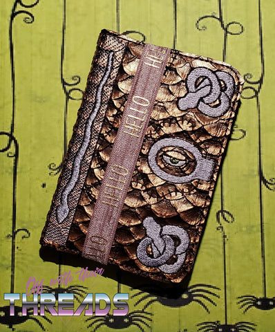 DIGITAL DOWNLOAD 5x7 Spell Book Mini Comp Holder