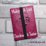 DIGITAL DOWNLOAD A6 Making A List Notebook Cover Holder
