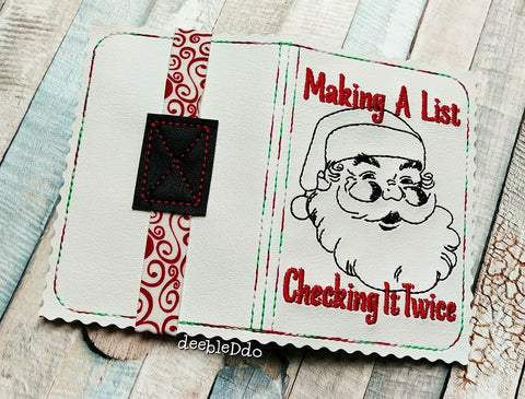DIGITAL DOWNLOAD 5x7 Mini Comp Making A List Notebook Cover Holder