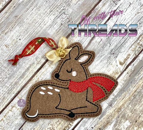 DIGITAL DOWNLOAD Winter Deer Ornament
