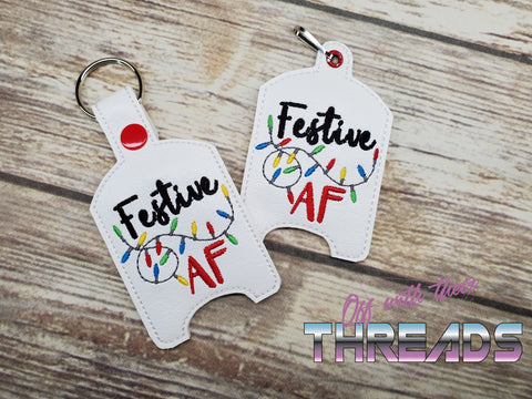DIGITAL DOWNLOAD Festive AF Hand Sanitizer Holder BUNDLE
