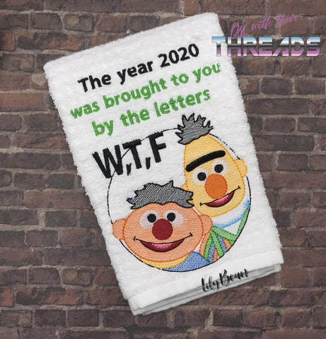 DIGITAL DOWNLOAD The Year 2020 Brought To You By WTF 3 SIZES INCLUDED Sketch Design