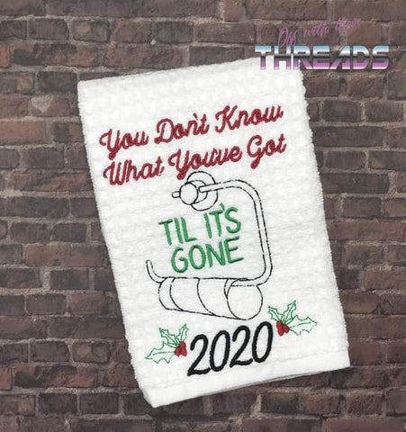 DIGITAL DOWNLOAD You Don't Know What You've Got 2020 TP 3 SIZES INCLUDED