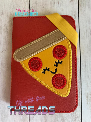 DIGITAL DOWNLOAD 5x7 Applique Pizza Mini Comp Book Cover