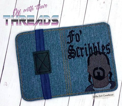 DIGITAL DOWNLOAD Fo Scribbles Mini Comp Notebook Cover Holder