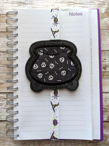 4x4 DIGITAL DOWNLOAD Applique Cauldron Planner Band