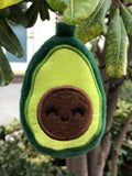 DIGITAL DOWNLOAD 4x4 ITH Advocado Applique Plushie