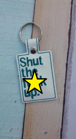 4x4 DIGITAL DOWNLOAD Shut The F Up Snap Tab