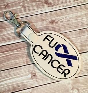 4x4 DIGITAL DOWNLOAD FU Cancer Snap Tab