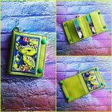 DIGITAL DOWNLOAD 5x7 ITH Applique Double Snap Wallet Key Chain Set