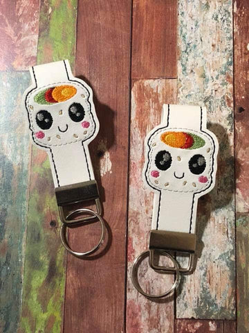 5x7 6x10 DIGITAL DOWNLOAD Sushi Key Fob Set
