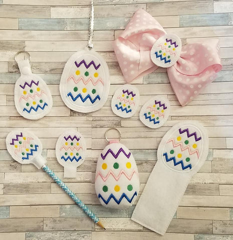 DIGITAL DOWNLOAD Easter Egg Basket Filler Set 6 Designs